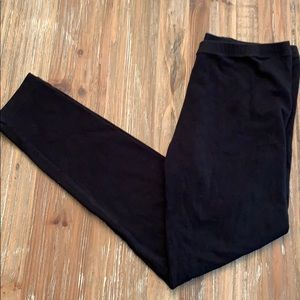 Ann Taylor LOFT black leggings